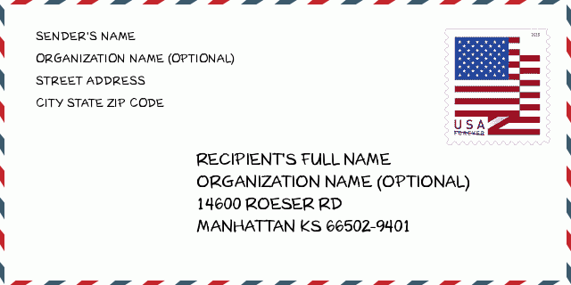 اسم المدينة Manhattan Ks كانساس الولايات المتحدة الرمز البريدي 5 زائد 4